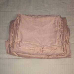 Other - blush pink sheet set